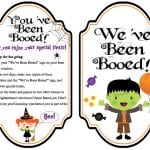 Free You've Been Booed Printables!