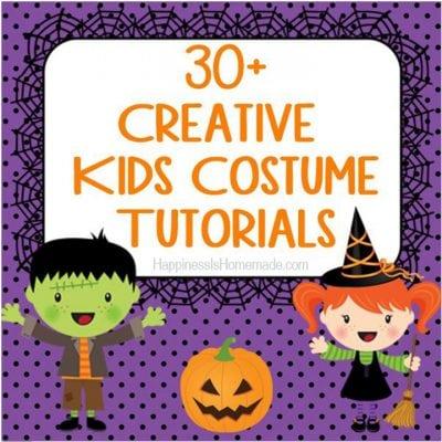30+ Creative DIY Kids Halloween Costumes