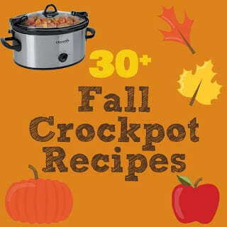 30+ Fall Crockpot Recipes
