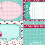 Printable Valentine's Day Love Notes