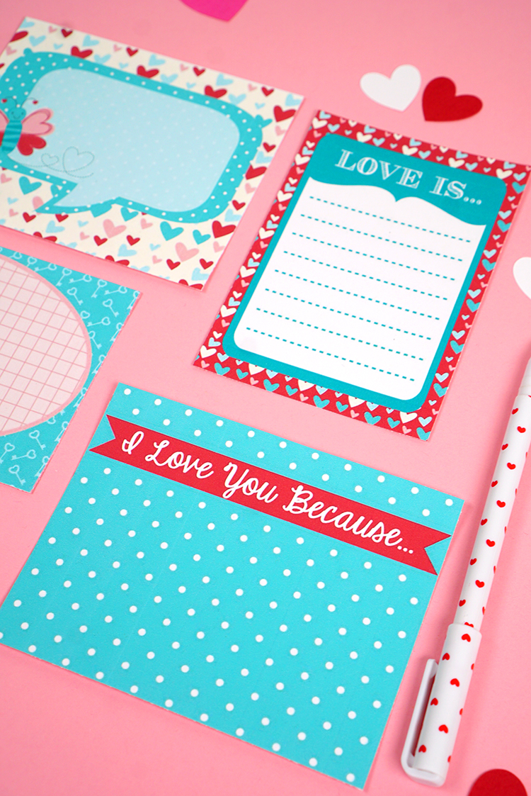 printable love notes for lunch boxes and more