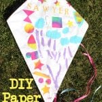 Kids Craft: DIY Paper Kite