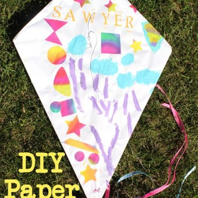 Kids Craft: DIY Paper Kite
