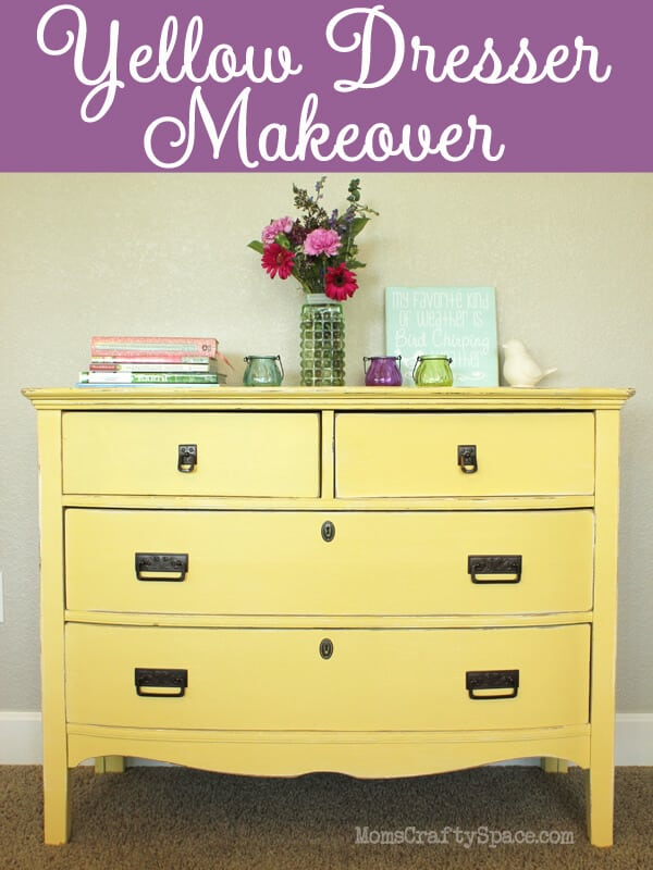 Refinished Yellow Dresser