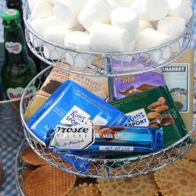 Gourmet S'mores & Nostalgic Soda Party