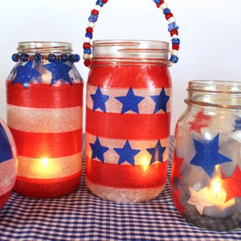 0 4th of July Lanterns