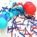 4th of July Confetti Eggs {Cascarones}