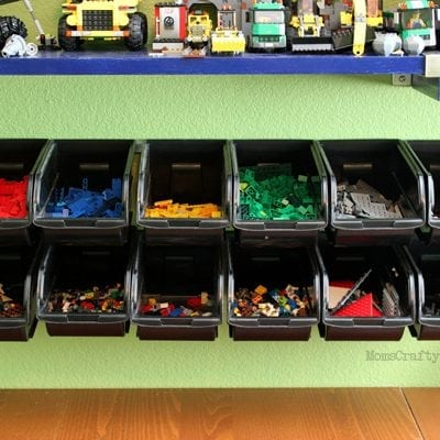 Cheap & Easy LEGO Storage Organizer