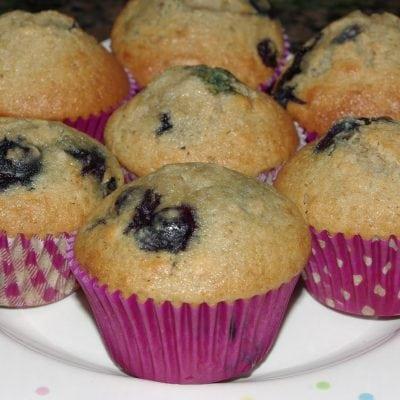 Blueberry Muffin Madness {Recipe}
