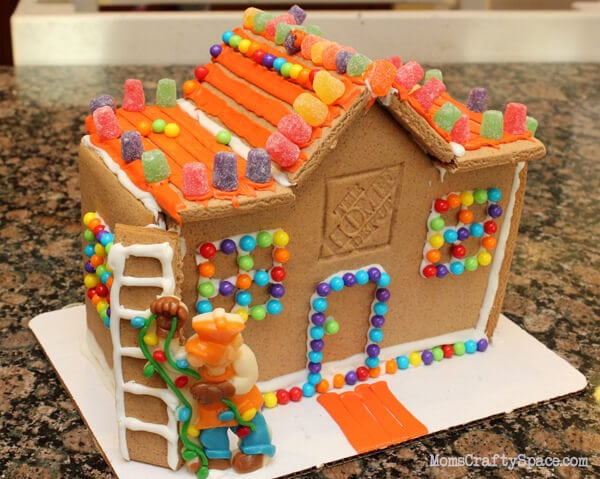 Homemade Gingerbread House Decorating Ideas