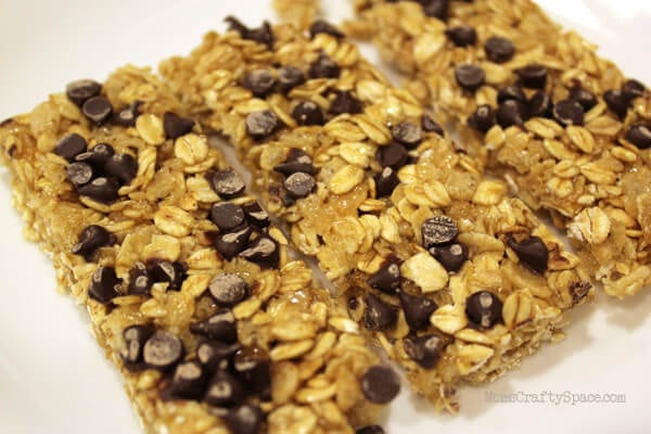 The Best EVER Homemade Chewy Granola Bars - Happiness is Homemade