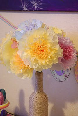 Coffee Filter Flowers {Tutorial}
