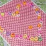 Kids Craft: Conversation Heart Art