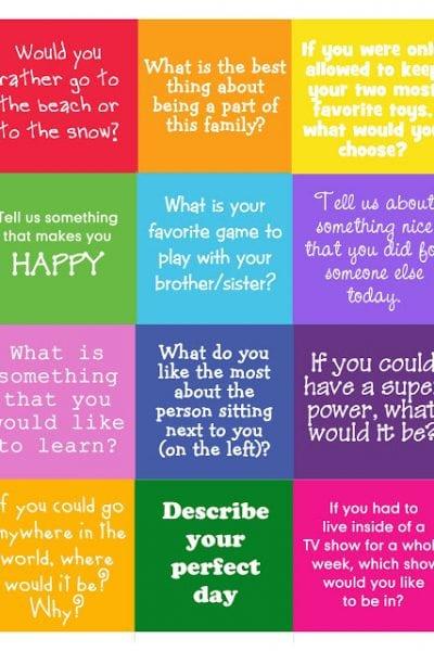 Conversation Starters 2