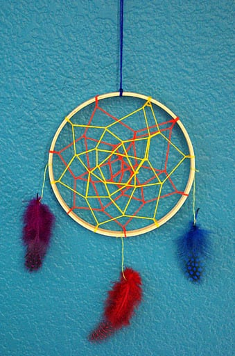 Dreamcatchers happiness is homemade for How to make homemade dream catchers