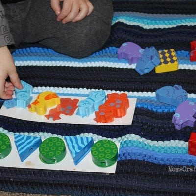 DIY Toddler Activities: Sorting, Matching & Sequencing