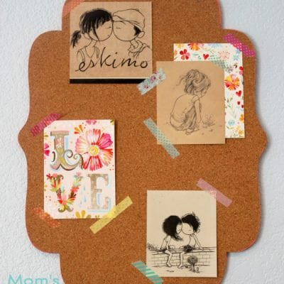 Colorful Decorative Edged Corkboard