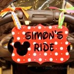 Disney Love: Stroller Identification Tag