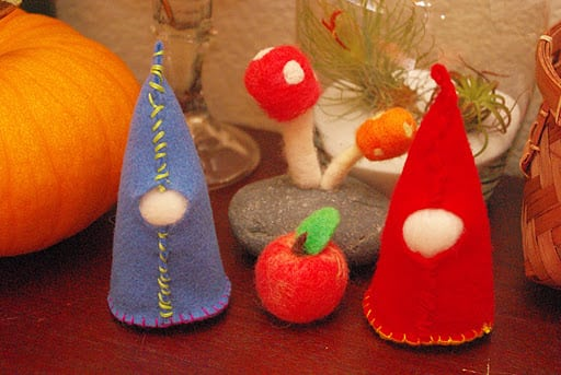First Sewing Projects Felt Gnomes Happiness Is Homemade