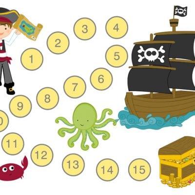 Printable Pirate Potty Training Reward Charts & Tips!