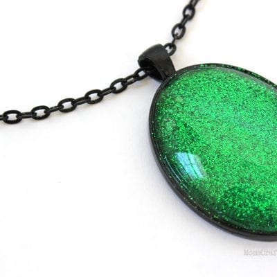 Evanora's Emerald Necklace: Inspired by Oz the Great & Powerful
