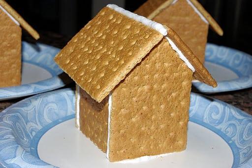 Image result for graham cracker gingerbread house