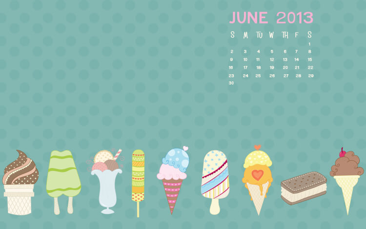 June Calendar Background : June desktop calendar background happiness is homemade