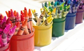 Montessori Style Upcycled Crayon Organizer Holder