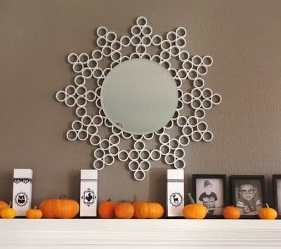 PVC Sunburst Mirror {Tutorial}