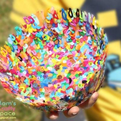 Summer Camp Craft: Perler Bead Bowls