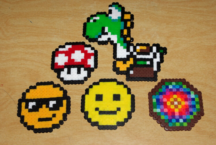 perler bead obsession happiness is