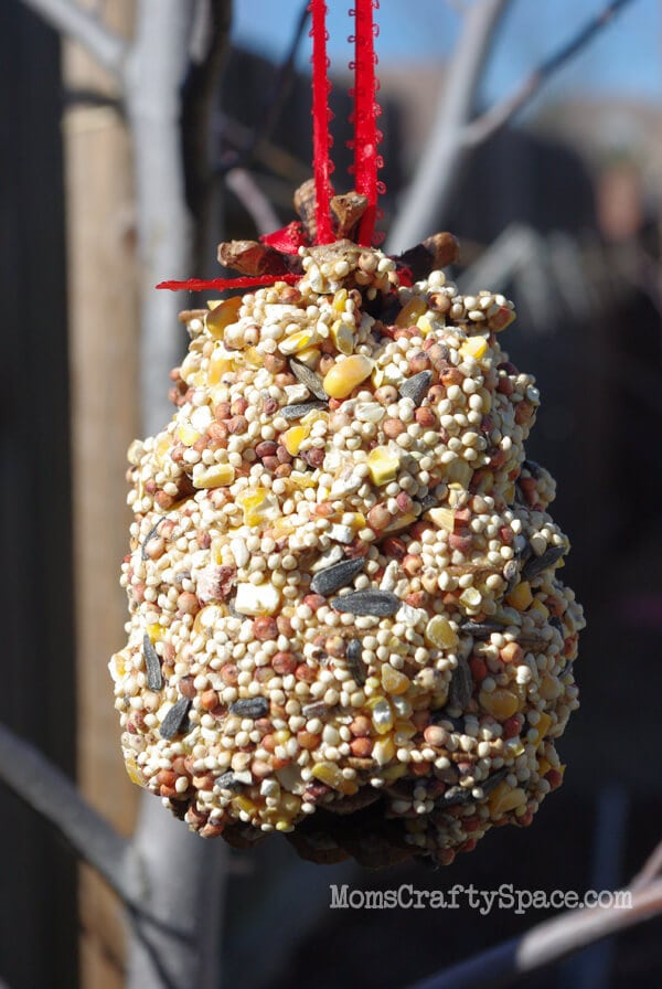 Pinecone Birdfeeders Tutorial Happiness Is Homemade