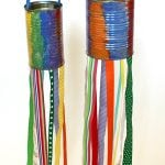 Kids Craft: Recycled Tin Can Windsocks