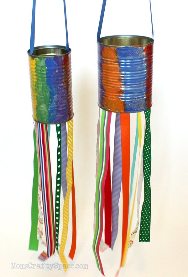 Recycled Can Windsock
