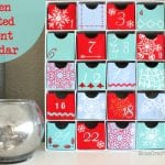 Screen Printed Advent Calendar