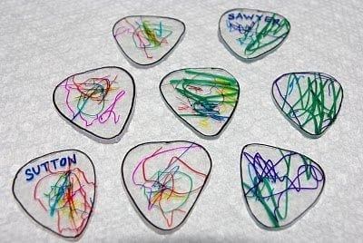 DIY Guitar Picks {Tutorial}