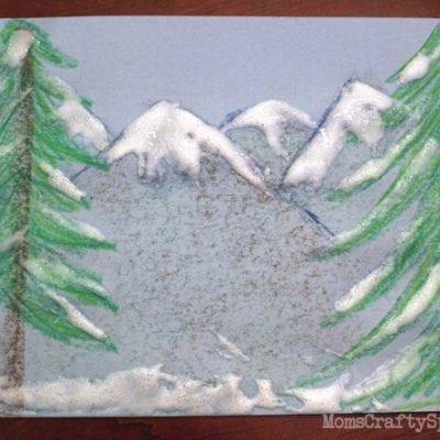 Faux Snow Paint