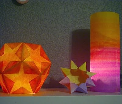 Winter Solstice Lanterns: Stars & Sunsets