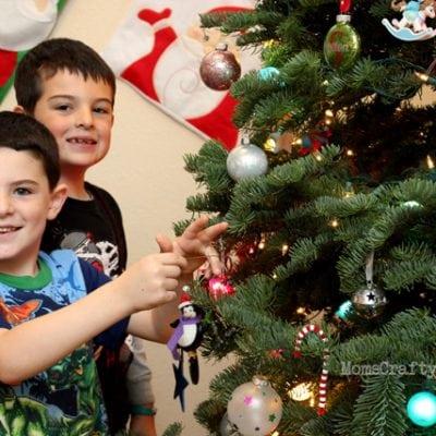 Christmas Tree Decorating (With Starbucks & Artisan Fresh Cinnamon Rolls!)