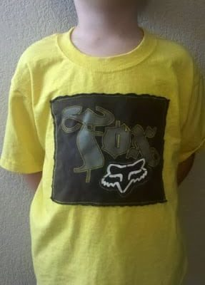Quickie: T-Shirt Refashion