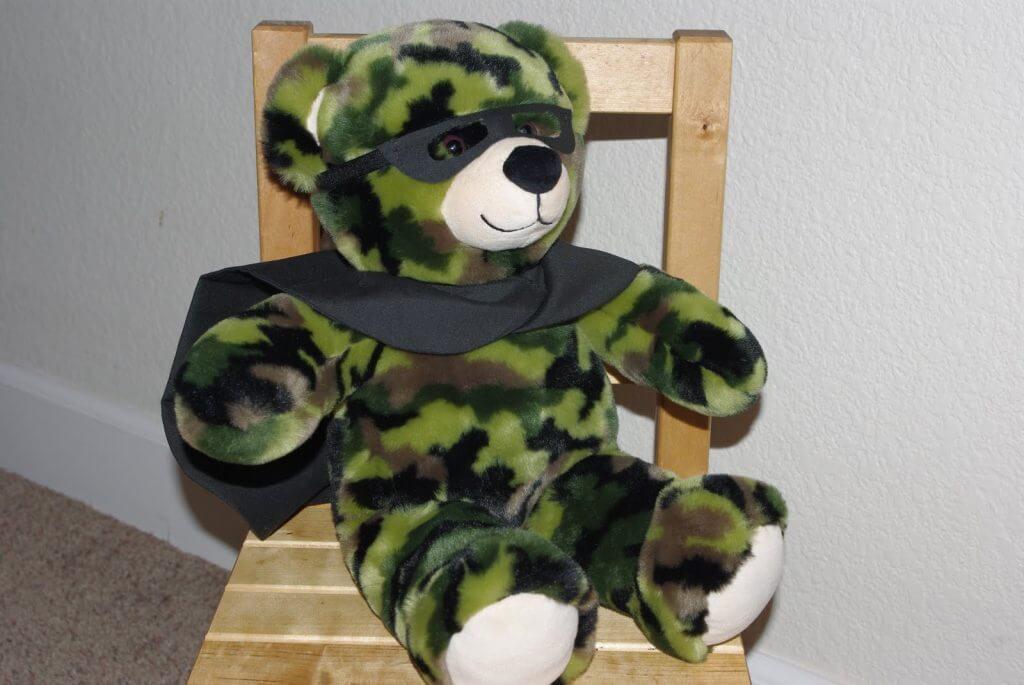 Teddy Bear Batman Disguise - Happiness is Homemade