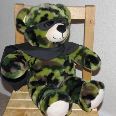Teddy Bear Batman Disguise