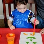 Easy Toddler Halloween Art