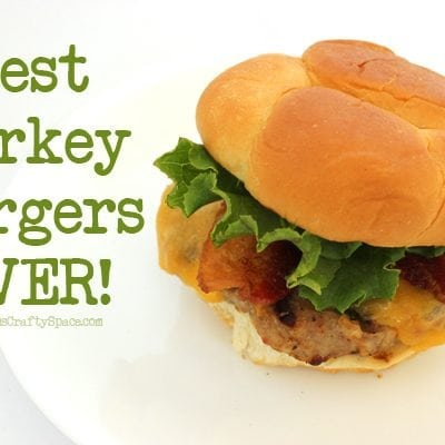 The Best Turkey Burger Recipe EVER!