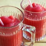 Watermelon Strawberry Slushies {Recipe}