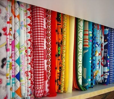 Simple Fabric Organization