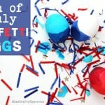4th of July Confetti Eggs {Cascarones}