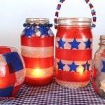 Red, White & Blue Lanterns