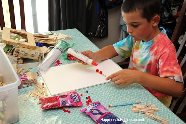 Child Led Craft Activity
