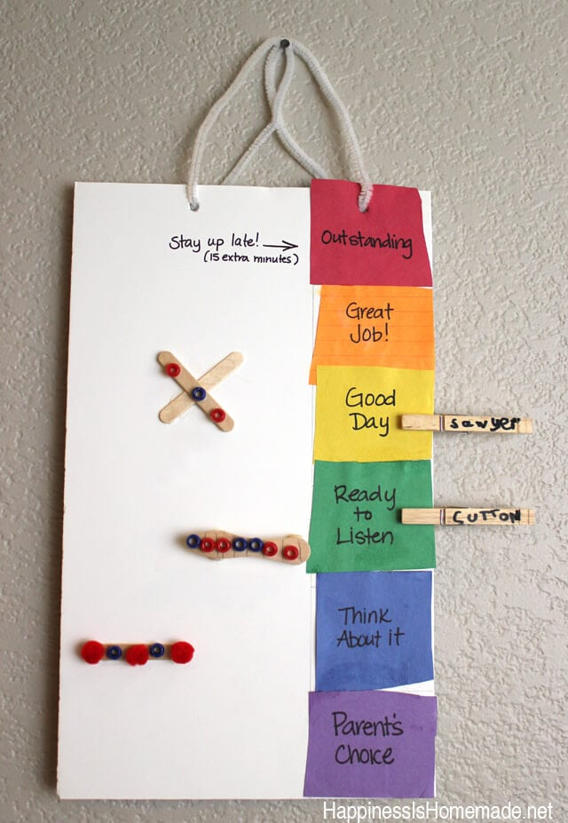 Child Made Behavior Chart